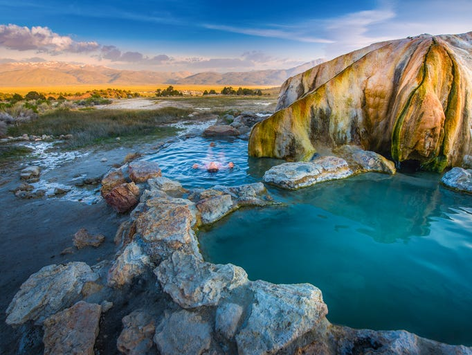 how to find a natural hot spring