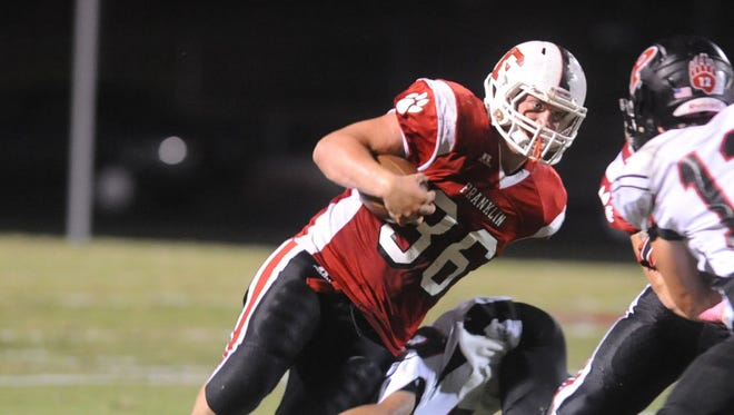 Franklin and Jeremiah Young travel to defending NCHSAA 1-A champion Murphy on Friday.