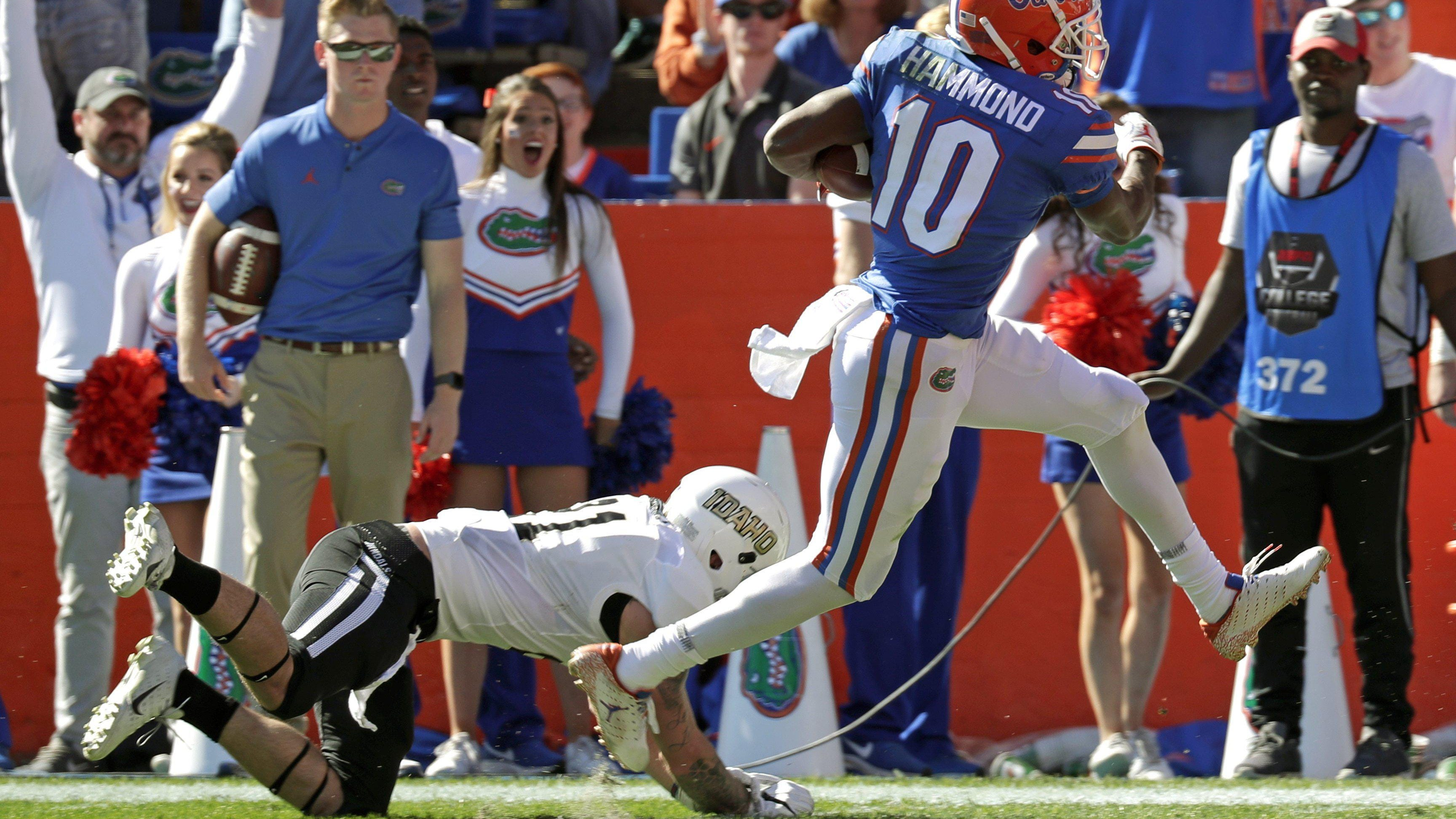 Uf S Josh Hammond Among Undrafted Free Agents To Reach Deal With Jaguars