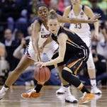 UConn blasts Oregon State in  Women's Final Four