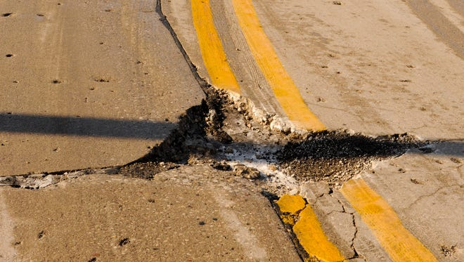 Deteriorating local roads are hurting the state's economy and need to be addressed immediately, the study suggests.