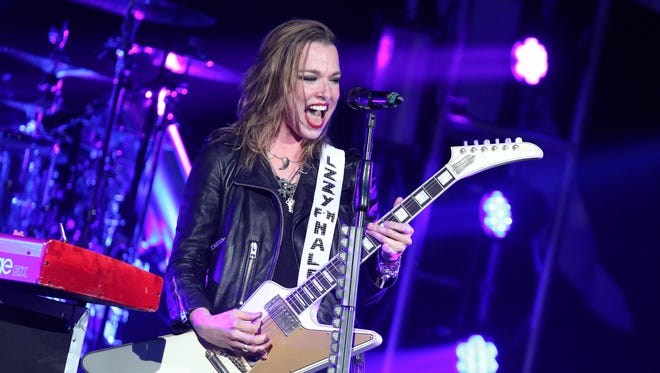 Halestorm, fronted by Lzzy Hale, joins Home Free as this year's national acts at the Outagamie County Fair in Seymour.