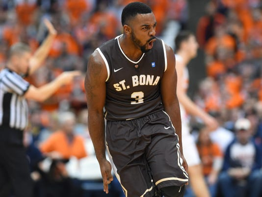 NCAA Basketball: St. Bonaventure at Syracuse