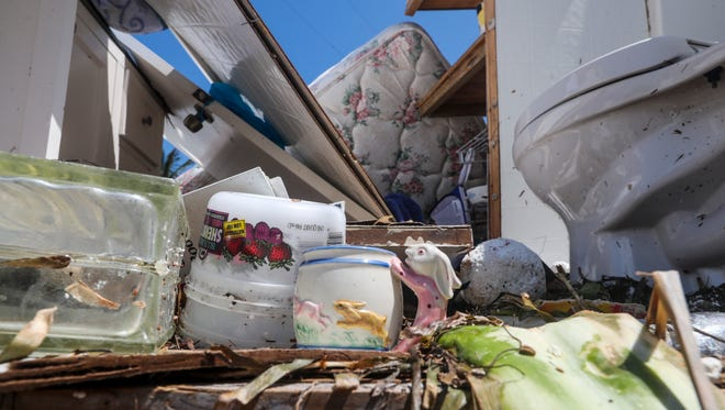 Hurricane Irma first made landfill in Florida at Cudjoe Key, less than 30 miles northeast of Key West. It then headed north, battering the rest of the Keys. Monroe County, which comprises the Florida Keys, had seen 30,767 claims, of which 57 percent required insurance payments and just over 10 percent of the claims remained open.