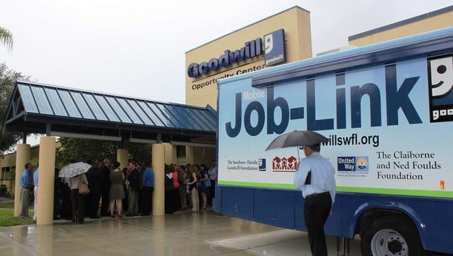 The Mobile Job-Link was recently inaugurated by the local Goodwill organization.