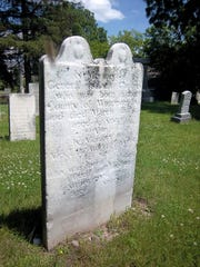General Chapin is buried in the Pioneer Cemetery off West Avenue in Canandaigua, marked by a badly weathered headstone.