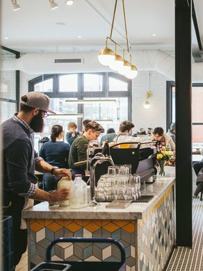 Stop in at The Bachelor Farmer Cafe adjacent to the restaurant for toast, sandwiches and salads, and fabulous pastries and coffee. Or make the transition from the farmhouse atmosphere to a chic speakeasy at the award-winning Marvel Bar downstairs.