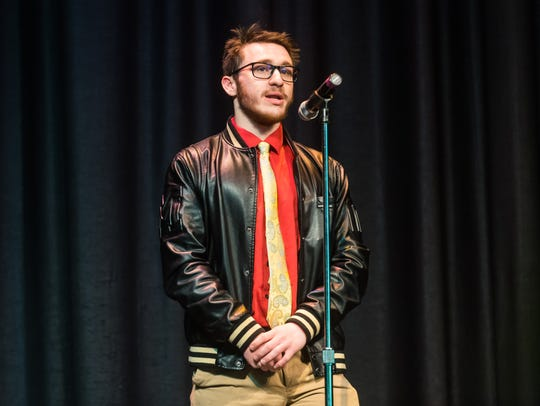 Alexander Pettry recites 'Life in a Love' by Robert