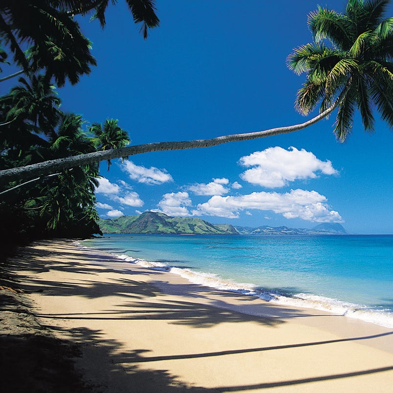 Fiji is a top shoulder season destination, according to Expedia.