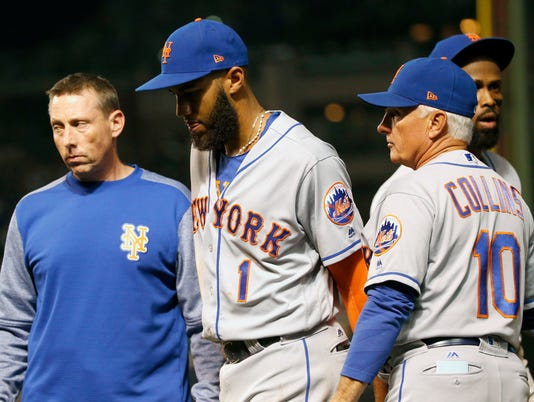 Brian Chicklo, Amed Rosario, Terry Collins
