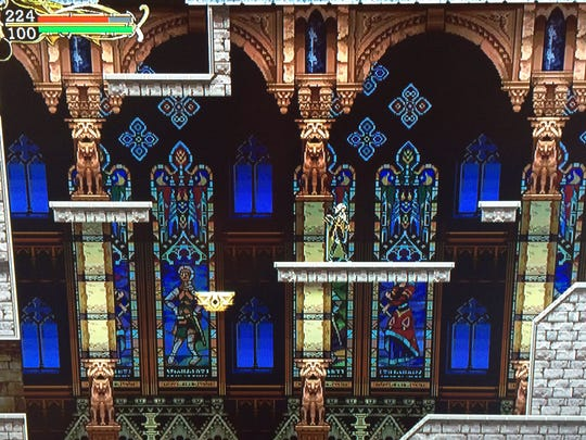 """""""Castlevania Harmony of Despair"""" has a classic look, unlike most modern games that tote high-definition graphics."""