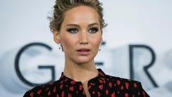 Jennifer Lawrence on De. 1, 2016, promoting 'Passengers'