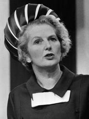 Margaret Thatcher, British prime minster for 11 years,