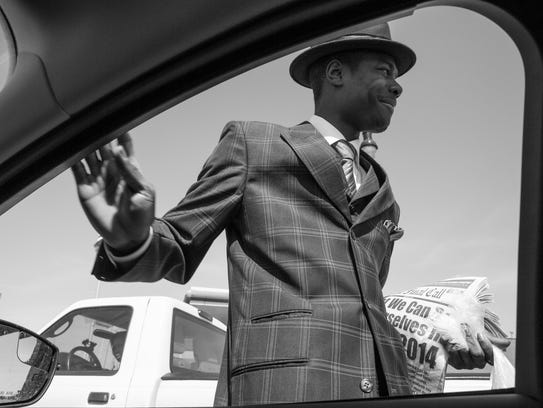 """The photo titled """"Detroit Man"""" by Amy Sacka for the"""