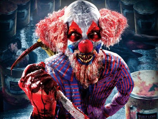 Clowns 3D: Music by Slash maze image