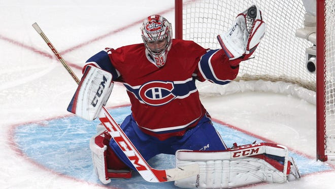Canadiens goalie Carey Price has a 2.33 goals-against average and .925 save percentage.