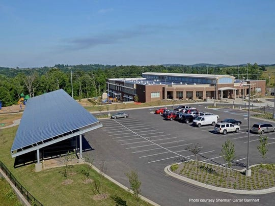 Richardsville Elementary School is said to be the first net-zero energy school in the country.
