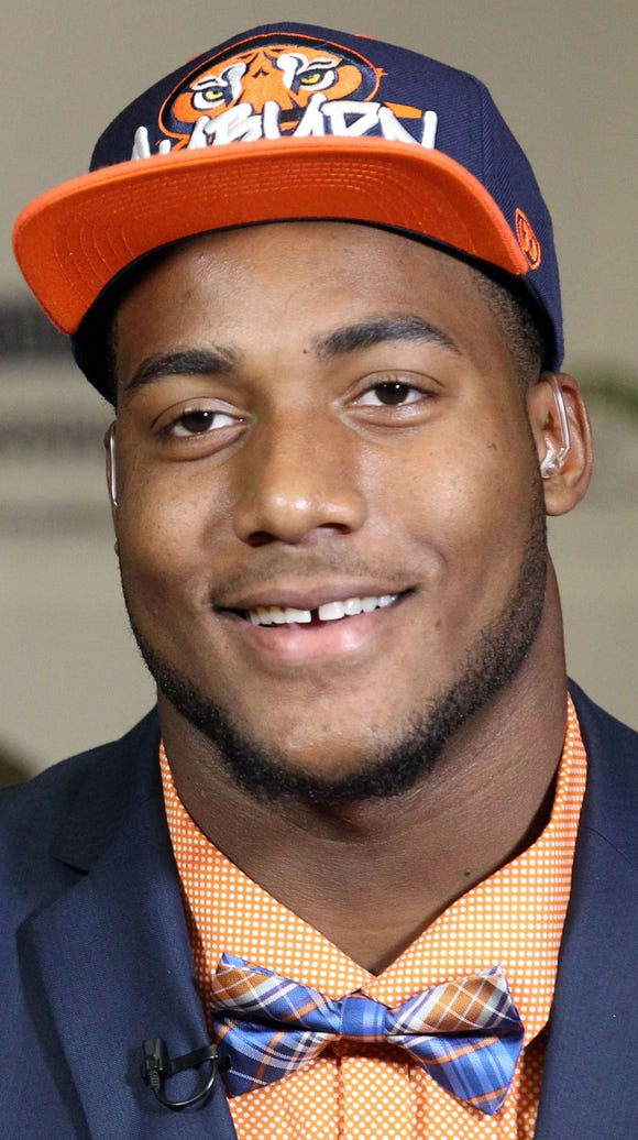 Auburn defensive end Byron Cowart was the nation's