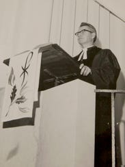 Phil Noble, preaching in Anniston, Alabama, recalls