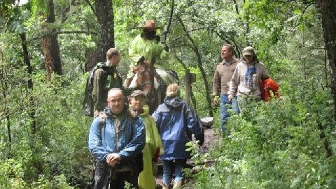 This photograph was snapped at the conclusion of a successful rescue in the White Mountain Wilderness by search and rescue volunteers. If you are interested in hearing more about what it takes to be a member of the White Mountain Search and Rescue Team, attend the March 16 meeting.