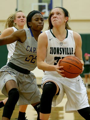 Zionsville's Rachel McLimore (32) leads the Eagles into sectional play.