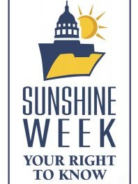 In honor of this year's Sunshine Week March 12-18