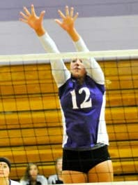 Yerington's Kassidy Lommori is the RGJ's All-North Division III volleyball player of the year.