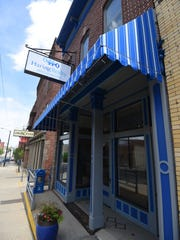 The Haring Realty Welcome Center on Main Street in