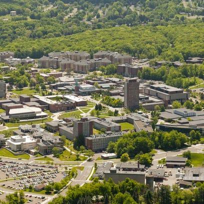 The Binghamton University campus