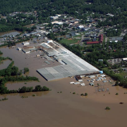 Scenes from the May 2010 flood in Cheatham County. This weekend marks the sixth anniversary of the devastating floods, which were the worst in county history.