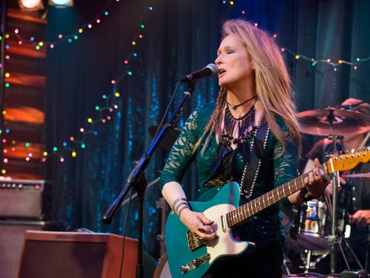 """Meryl Streep appears in a scene from """"Ricki and the Flash,"""" in theaters on Aug. 7. Many scenes for the movie were filmed in Westchester."""
