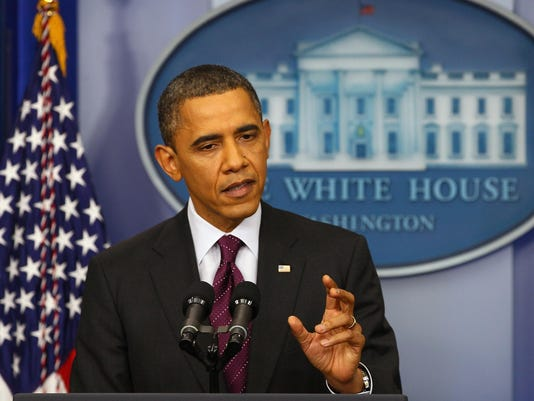 President Obama Holds A News Conference At The White House