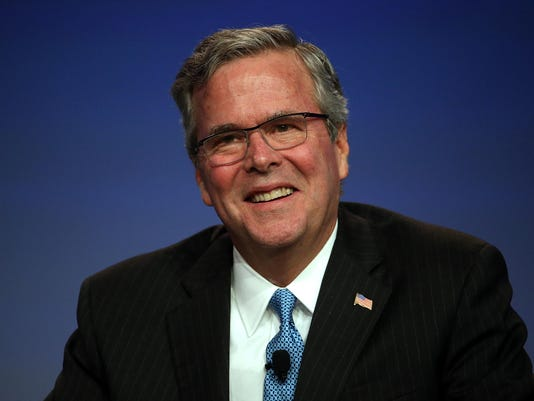 Jeb Bush Speaks At National Auto Dealer's Association Annual Convention
