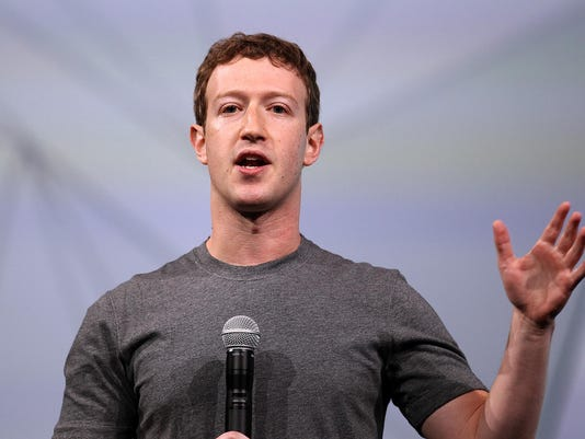 (FILE) Mark Zuckerberg Welcomes A Daughter And Gives Up Facebook Shares Facebook Holds f8 Developers Conference