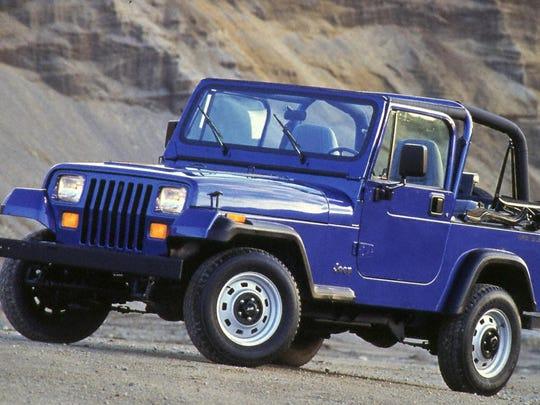 The 1994 Jeep Wrangler.