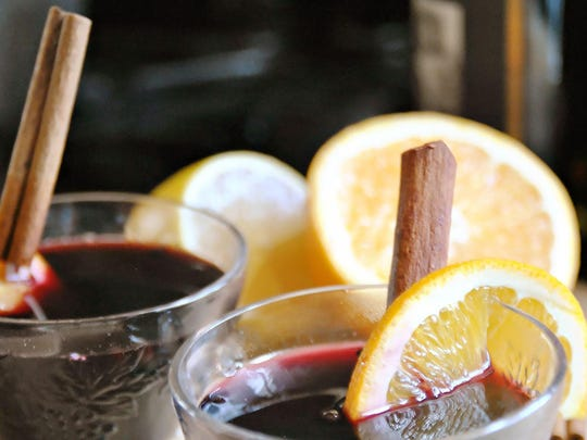 Spotted Pig Mulled Wine is a classic including cinnamon and allspice.
