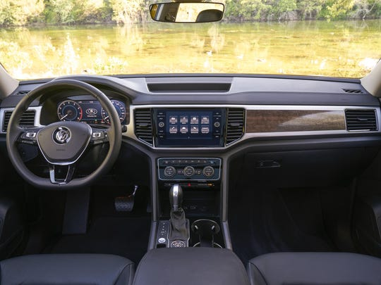 The driving position of the 2018 Volkswagen Atlas is perfect for long stints behind the wheel.
