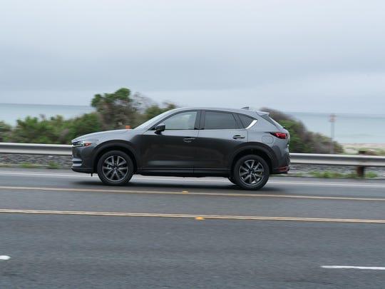 The 2017 Mazda CX-5.