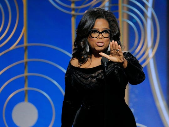 Oprah Winfrey's remarks while accepting the Cecil B. DeMille Lifetime Achievement award at the Golden Globes has many wondering if she will run for President in 2020.