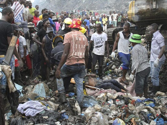 Mozambique Garbage Collapse