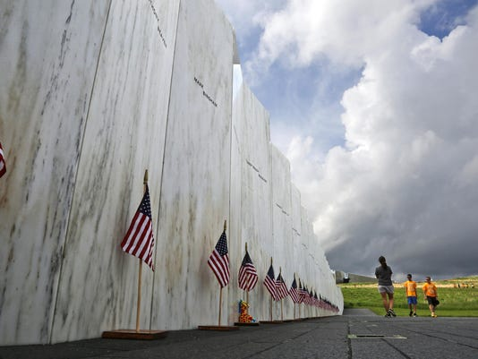 Flight 93 Memorial Wreckage