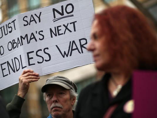 Veterans, Peace Activists Speak Out Against US Military Force Against ISIL