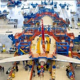 The Boeing 787 Dreamliner Final Assembly in N. Charleston