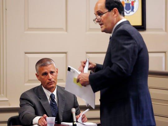 Attorney Christopher Deininger, representing retired