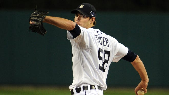 Doug Fister went 14-9 with a 3.67 ERA in 208 1/3 innings last season for the Tigers.