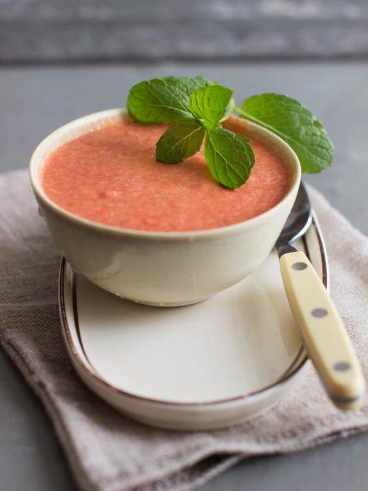 Food Watermelon Gazpacho