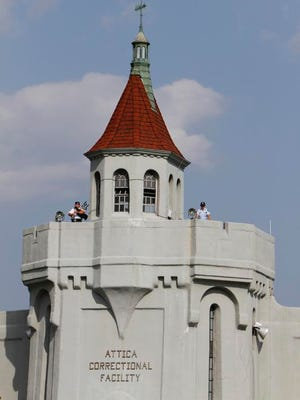 A file photo of the Attica prison in 2011.