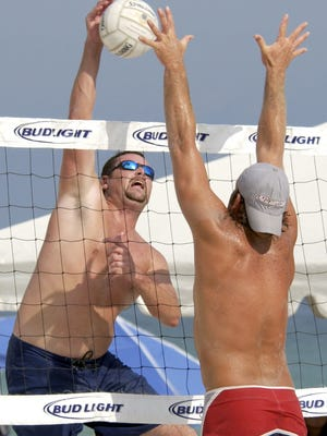 Beach volleyball is returning to Pensacola Beach with an open division co-ed tournament as part of the DeLuna Beach Games on April 28 in the area behind Flounders.