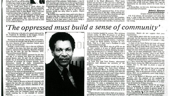 Robert Simpson article on Dr. Frederick D. Holliday