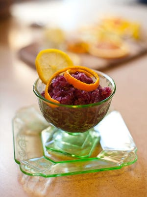 Sangria Granita is a refreshing treat to make for warmer weather.